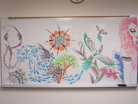 Easy Things To Draw On A Whiteboard by 1000 Things To Do When Bored 51 Draw A Mural On A