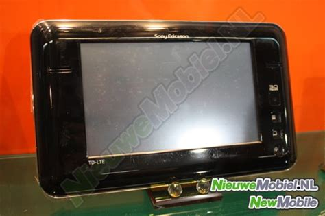 Tablet Sony Ericsson sony ericsson 4g tablet seen at mwc notebookcheck net news