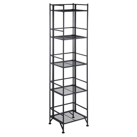5 tier folding metal shelf convenience concepts target