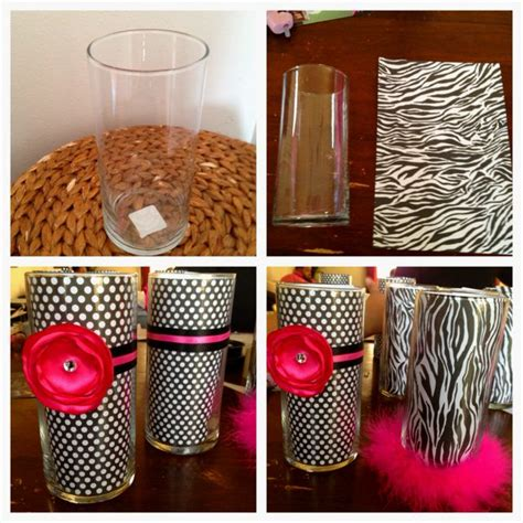 Ways To Decorate A Vase by 17 Best Images About Animal Print Baby Shower On Pink Baby Showers Personalized