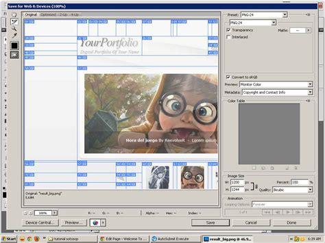 tutorial desain web dengan xp membuat website dengan photoshop bagian iv welcome to
