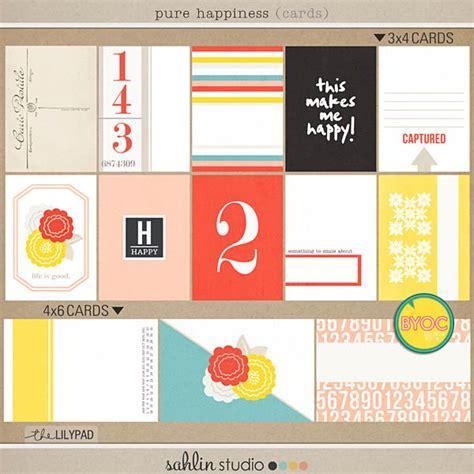 printable happiness journal pure happiness digital printable kit and journal cards