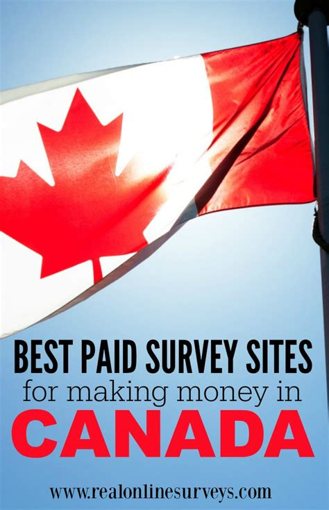 Survey For Money Canada - best online surveys for making money in canada