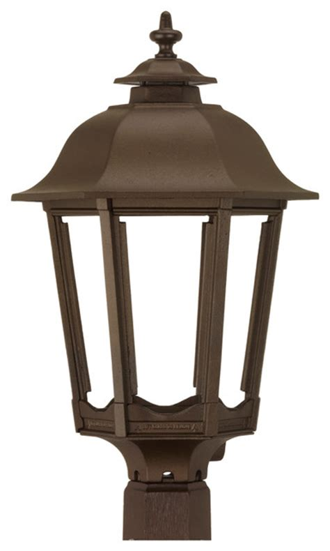 Gas Outdoor Lighting Fixtures The Bavarian Outdoor Gas Lighting Bronze Age Post Mo Traditional Post Lights By American
