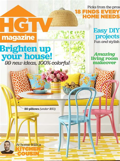 Hgtv Magazine Cover Giveaway - hgtv magazine april 2015 hgtv