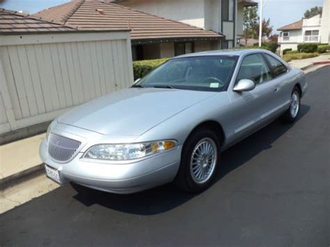 how to sell used cars 1998 lincoln mark viii seat position control purchase used 1998 lincoln mark viii lsc sedan 2 door 4 6l in brea california united states