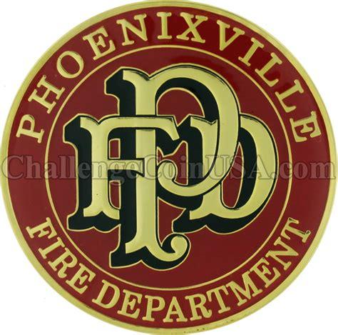 department challenge coins challengecoinusa phoenixville department challenge coin