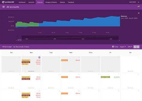 Budget Calendar Software Meet The Best Alternative To Mint Pocketsmith Smart