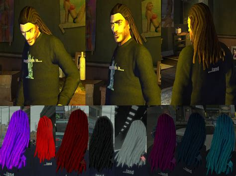 how to get long hair in gta gta gaming archive
