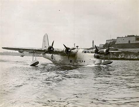 flying boat mount sunderland aircraft ml782