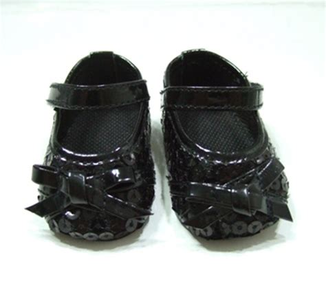 black sequin dress shoe tune 251 wholesale doll