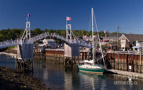 Large House Plans by Perkins Cove Ogunquit Maine Photograph By Jerry Fornarotto