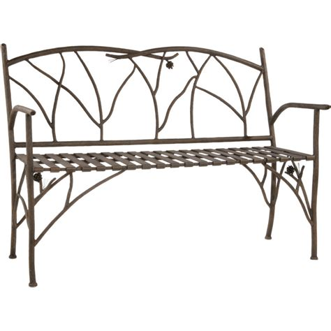 wrought iron backless bench wrought iron bench ideas for every room artisan crafted