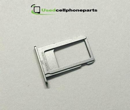 Simcard Tray Slot Simtray Simlock Sim Lock Iphone 5g 5s Original iphone 6s sim card slot tray grey