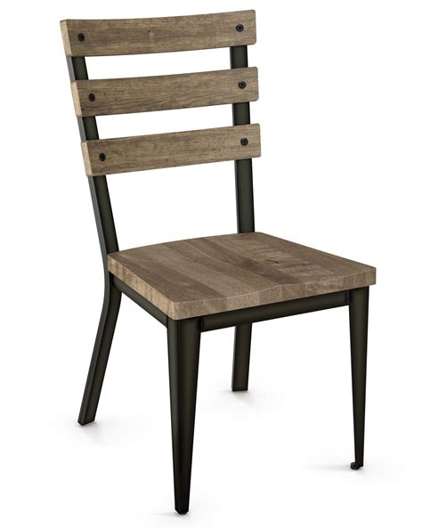 Free Dining Chairs Black Metal Dining Chairs Free Rally Metal Dining Chair With Distressed Wood Backrest In Set