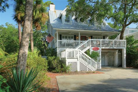 st simons cottage rentals st simons island vacation rentals cottage 4 bedroom