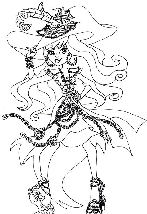 monster high coloring pages great scarrier reef monster high coloring pages coloringsuite com