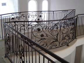 Exterior Stair Handrails Metal Wrought Iron Hand Rails Sacramento Custom Work