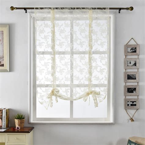 curtains and blinds 4 homes discount code kitchen curtains jacquard tulle roman blinds floral white