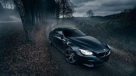 e63 themes tree car nature trees road bmw bmw m6 wallpapers hd