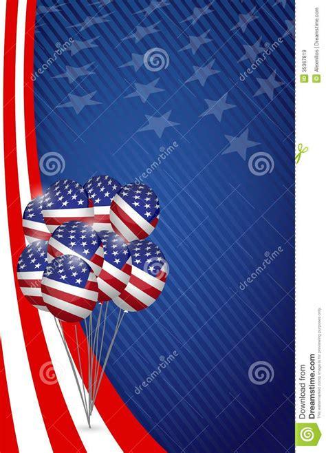 graphics design usa usa graphic american flag balloon flag background royalty