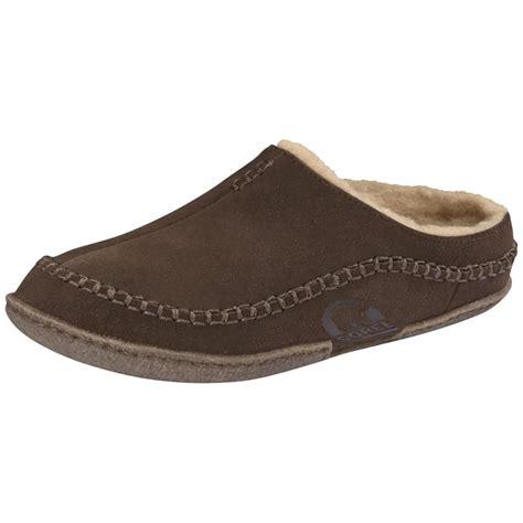 sorel falcon ridge slipper sorel falcon ridge mens slipper mens from cho fashion