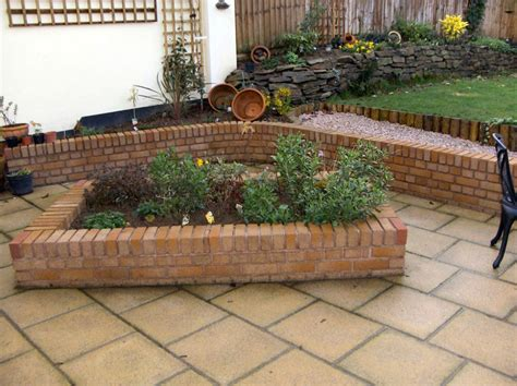 brick flower bed gardencare my portfolio 1