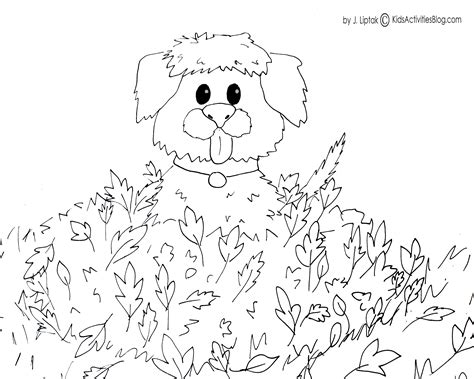 printable fall coloring page free large images