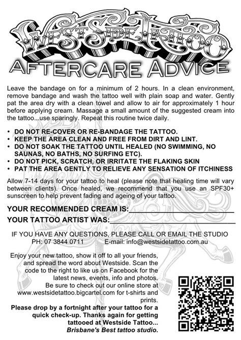 tattoo aftercare warning signs 11 best aftercare images on pinterest tattoo aftercare
