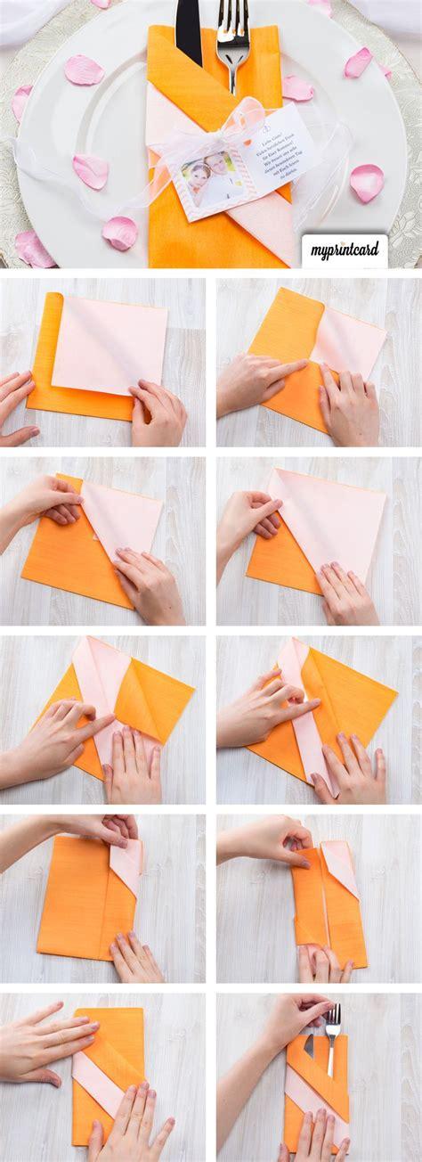 servietten tasche falten die besten 17 ideen zu servietten falten einfach auf