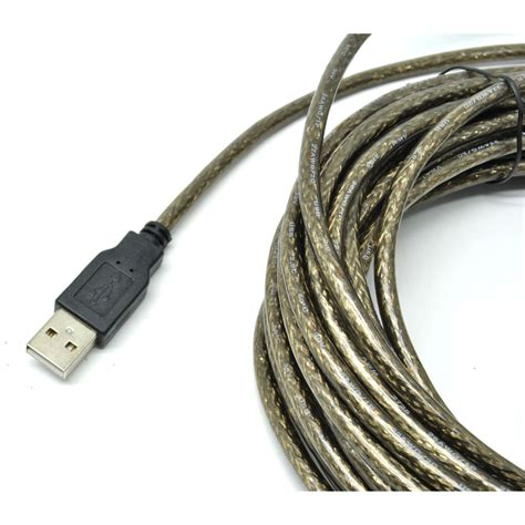 Murah Kabel Usb To Printer 10meter kabel ekstensi usb to extension cable 10 meter