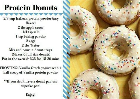 protein donuts protein donuts isagenix recipes protein