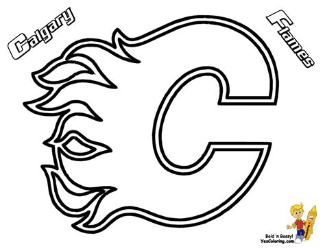ice hard hockey coloring pictures nhl hockey west ice