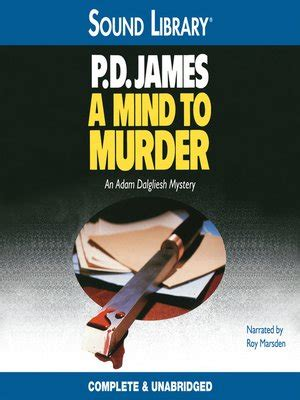 A Mind To Murder a mind to murder by p d 183 overdrive ebooks
