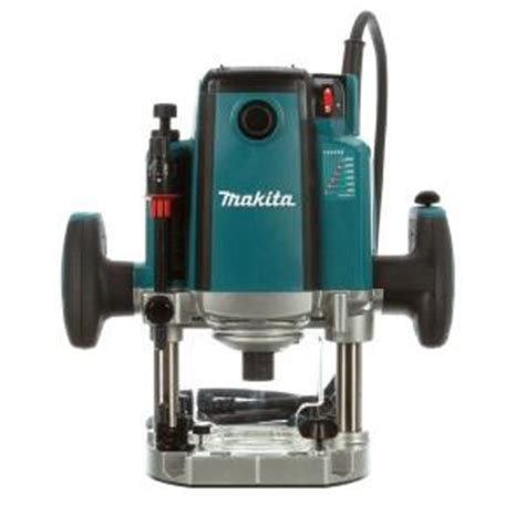 makita 3 1 4 hp plunge router with variable speed rp2301fc