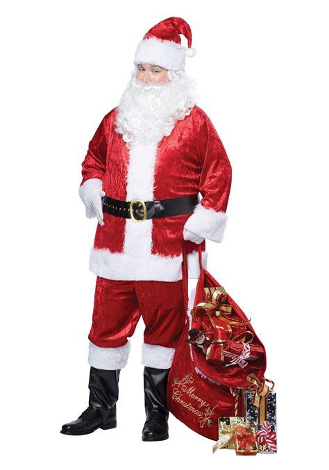 plus size classic santa suit