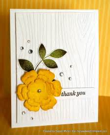 handmade by g3 cas thank you cards