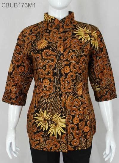 Atasan Batik Jumbo Wayang Krisan atasan jumbo tanggung motif jogjaan melati blus lengan tanggung murah batikunik