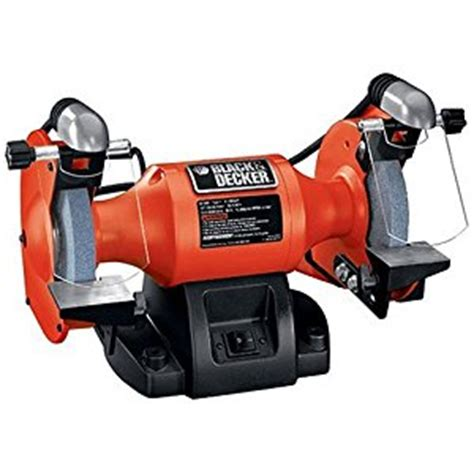 black and decker 6 inch bench grinder black decker bt3500 6 inch bench grinder