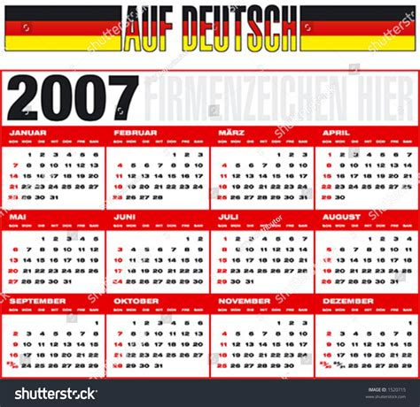 December 2007 Calendar Kalender 2007 Kalender 2017