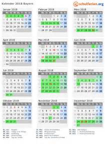Ferien Kalender 2018 Kalender 2018 Ferien Bayern Feiertage