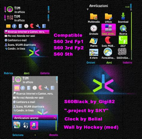 download themes for nokia s60v3 mobile phone tool download s60 black by gigi82 s60v3 theme