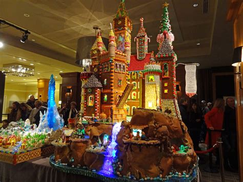 seattle gingerbread houses a n blog castles galore at seattle s gingerbread village