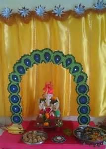 Ganpati Decoration Idea Ganpati Decoration Ideas Ganesh Pooja Ganpati