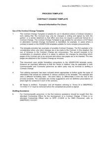 soa service contract template annex b contract change template