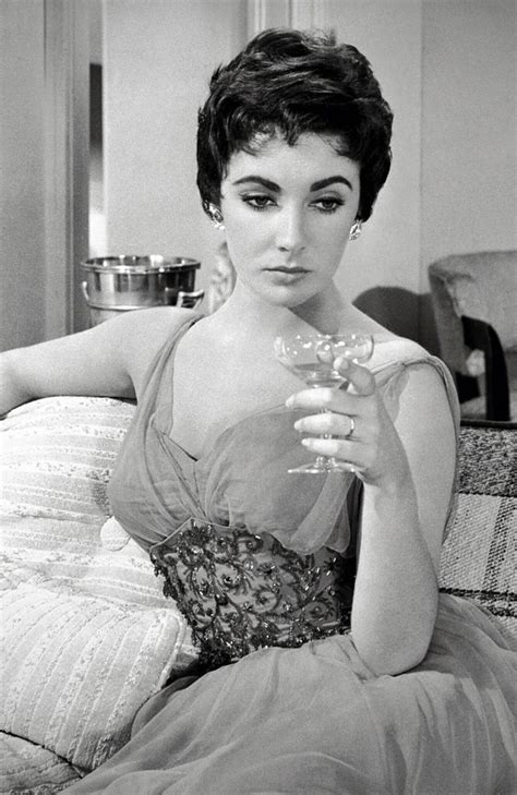 1960s movie pubic hair found classy vintage pixie on elizabeth taylor 1950s