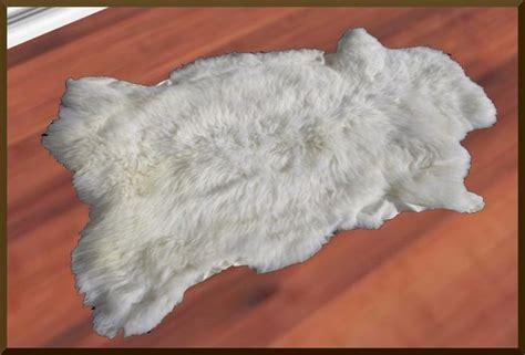 fur white rug second marketplace rr white fur rug