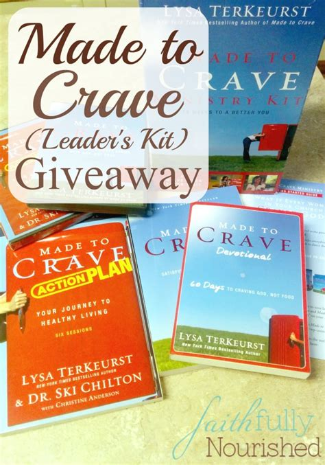 Crave Giveaway - made to crave kit giveaway kids activities saving money home management