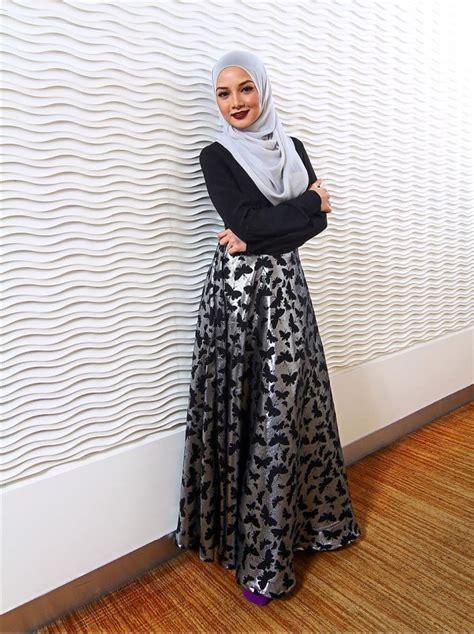 Top Model Terusan Panjang Impor Style 13 model baju muslim modern 2017 yang lagi trend
