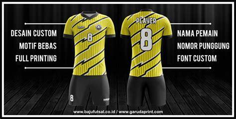 desain baju futsal ter keren bikin baju futsal garuda print garuda print